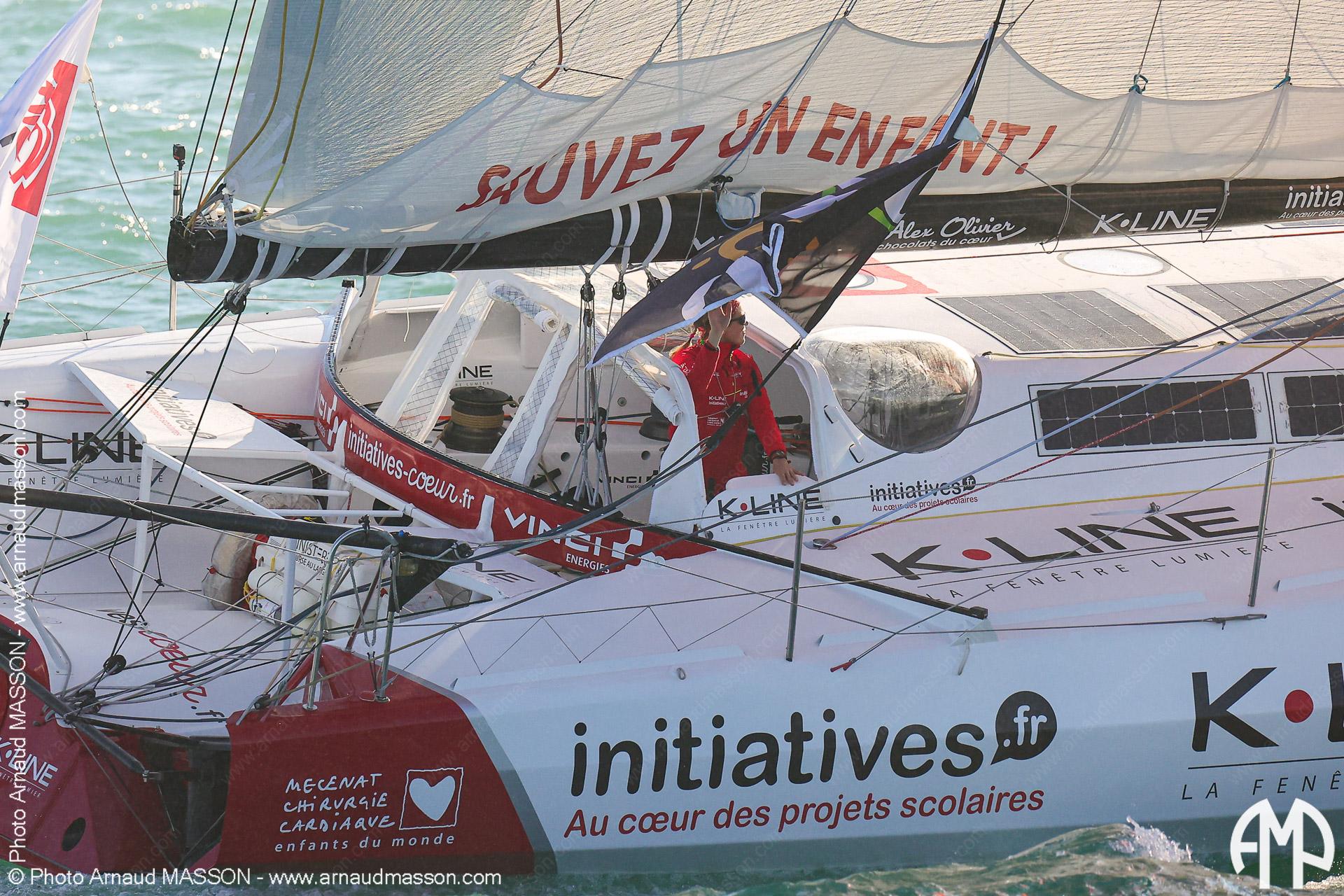 Les Sables d'Olonnes : le départ du Vendée Globe 2020 (08/11/2020)