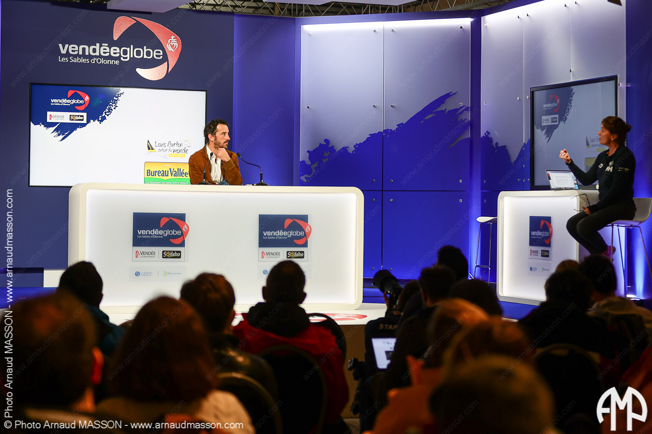 Les Sables d'Olonnes : Arrivée du Vendée Globe