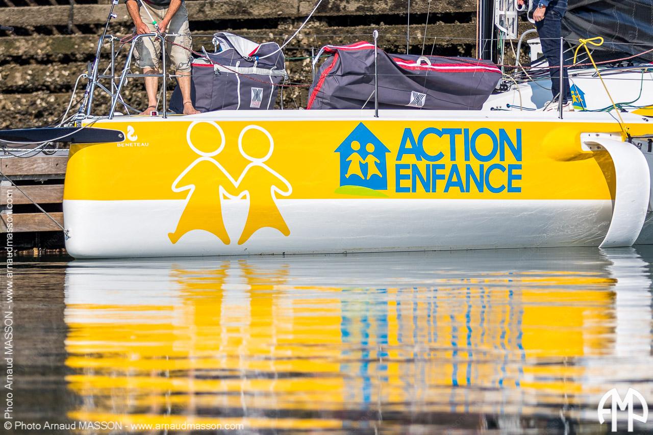 Journée ActionEnfance & Loick Peyron