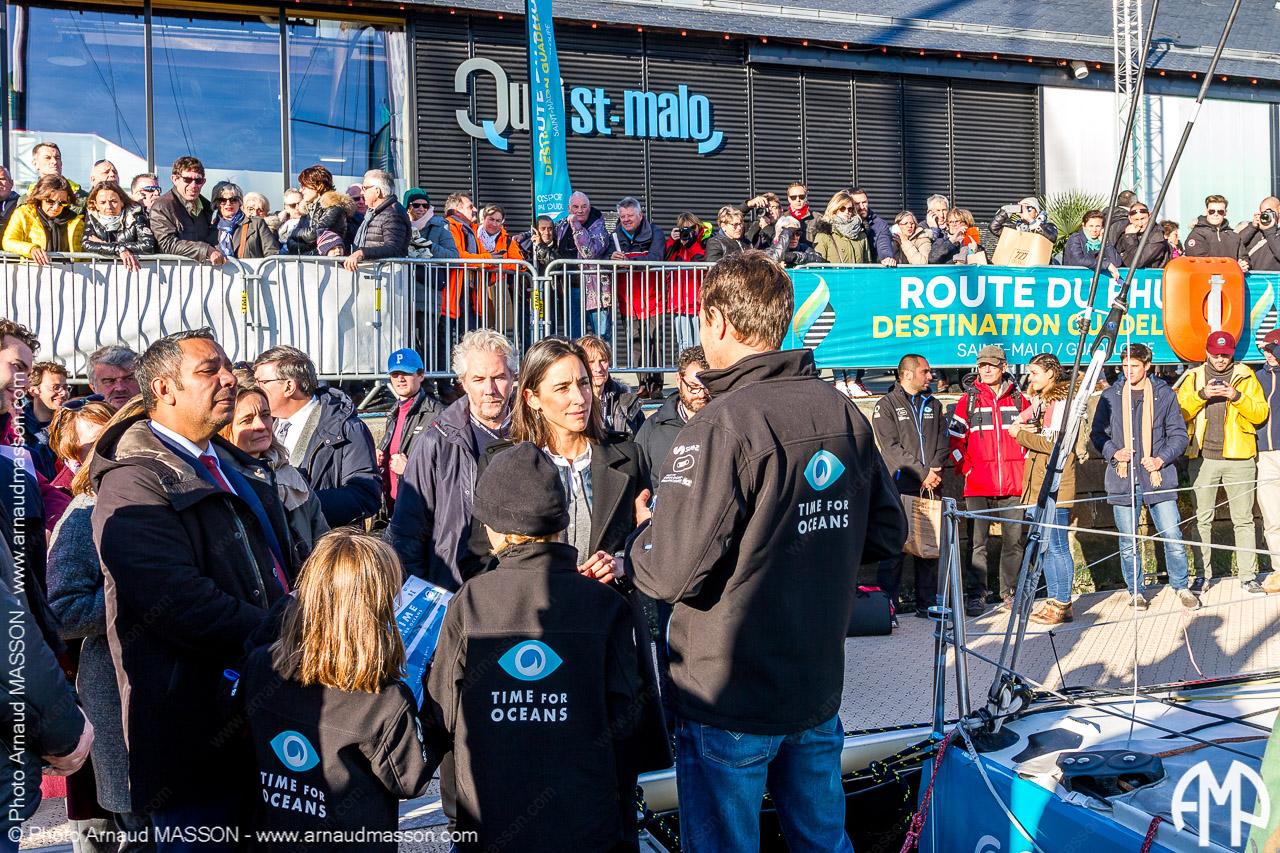 Departure of the Route du Rhum 2018